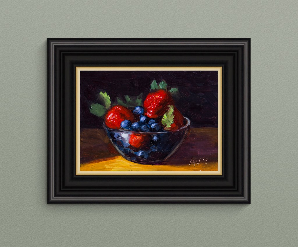 Berries_Framed